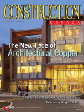 Construction magazine cover image